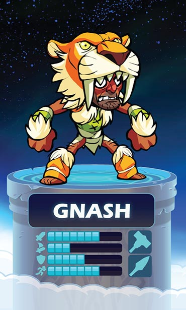 Brawlhalla Gnash Weapon and Stats