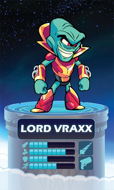 Brawlhalla Lord Vraxx Stats and Weapons