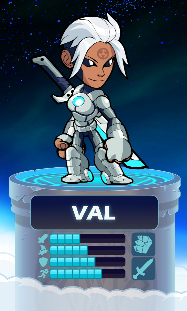 Val - The Weapon - Brawlhalla