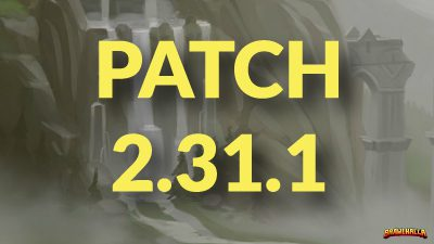 Patch Notes 2.31.1