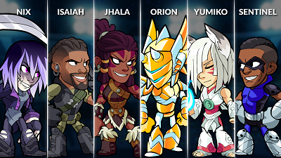 Brawlhalla Weekly Rotation – July 4th, 2018