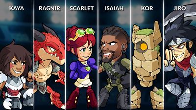 Brawlhalla Weekly Rotation – August 8, 2018