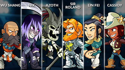 Brawlhalla Weekly Rotation – August 1, 2018