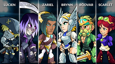 Brawlhalla Weekly Rotation – September 5, 2018