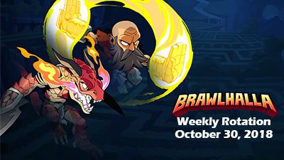 Brawlhalla Weekly Rotation – October 30, 2018