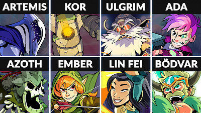 Brawlhalla Weekly Rotation – November 14, 2018