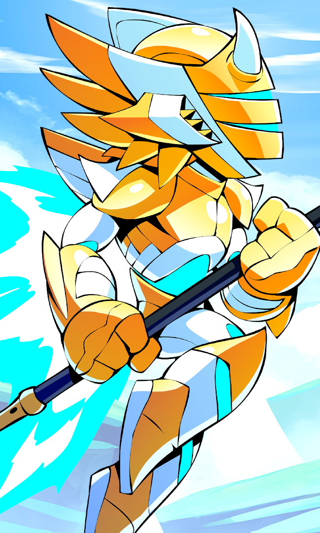Brawlhalla Orion Stats and Weapons