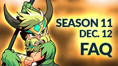 Ranked Season 11 – Coming December 12 – FAQ