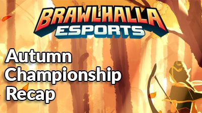 Esports Update: Autumn Championship and What you need to know for the World Championship