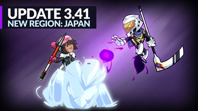New Region: Japan – Patch 3.41