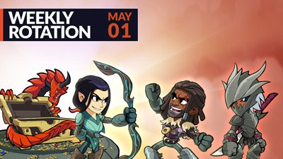 Brawlhalla Weekly Rotation – May 1, 2019