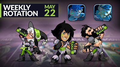 Brawlhalla Weekly Rotation – May 22, 2019