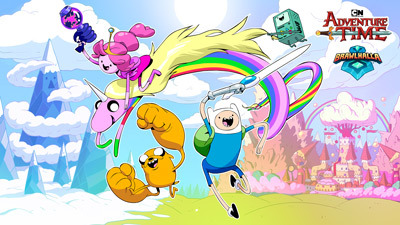 Adventure Time - Custom Cursor browser extension | 225x400
