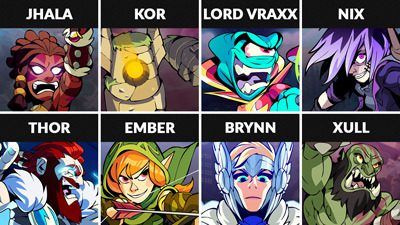 Brawlhalla Weekly Rotation – June 19, 2019