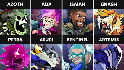 Brawlhalla Weekly Rotation – August 7, 2019