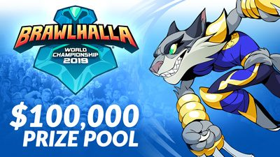 Get ready for the Brawlhalla World Championship 2019!