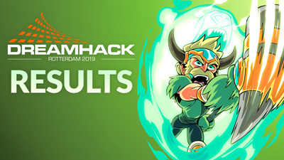 Brawlhalla at DreamHack Rotterdam 2019 Results