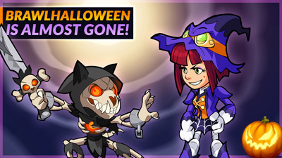 Don't miss Brawlhalloween 2019!