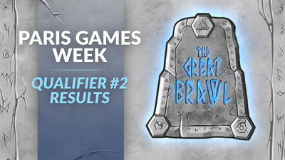 Paris Games Week 2019 Qualifier #2 Results