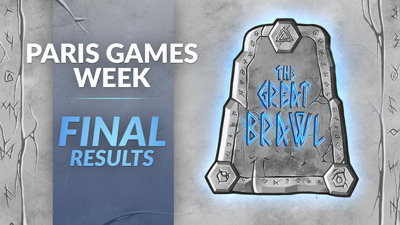 Pavelski wins The Great Brawl at Paris Games Week 2019!