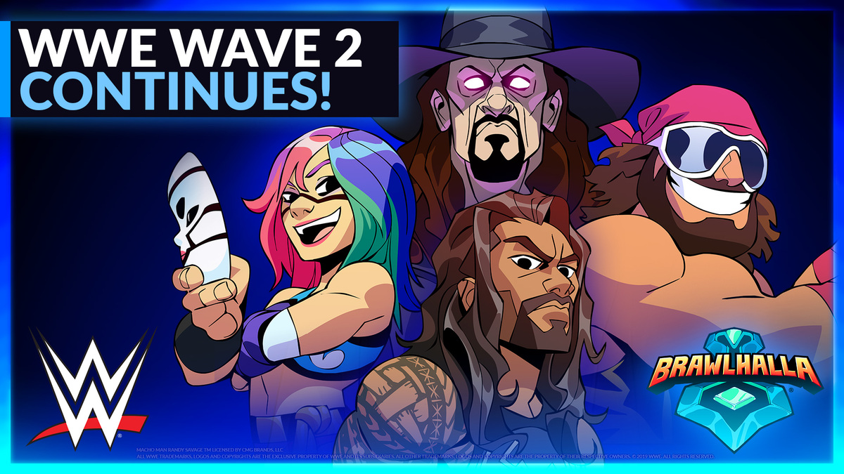 Stay In The Ring In Brawlhalla X Wwe Wave 2 Brawlhalla