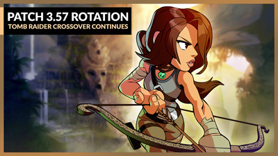 Catch Lara Croft in Temple Climb!