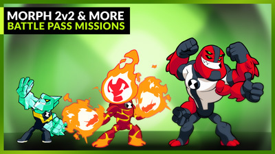 Morph 2v2 & More Battle Pass Missions