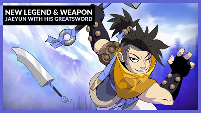 New Legend & Weapon: Jaeyun with his Greatsword – Patch 4.03