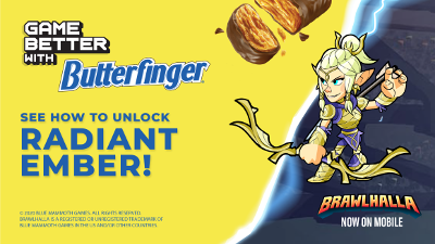 Brawlhalla x Butterfinger Promotion