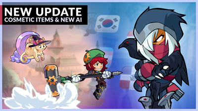 New Cosmetic Items and Advanced AI – Patch 4.04