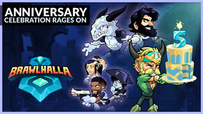 Celebrate Five Years of Brawlhalla!