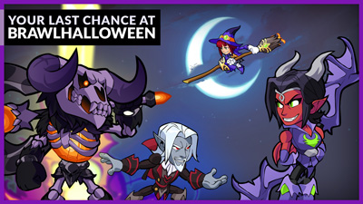 Brawlhalloween 2020 is Almost Gone!