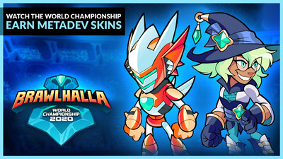World Championship FINALS this weekend! Earn METADEV Brynn, Orion, and Fait by watching on Twitch