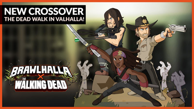 AMC's The Walking Dead battles in Brawlhalla! – Patch 4.08