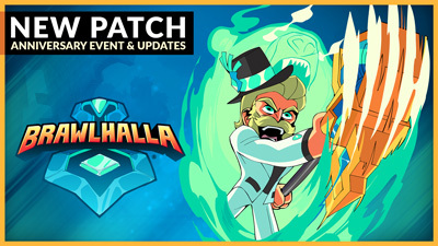 Happy Brawlhalla Anniversary – Patch 5.00