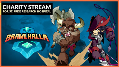 Brawlhalla's December Charity Stream!
