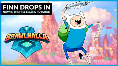 Finn from Adventure Time joins Free-to-Play Legend Rotation!