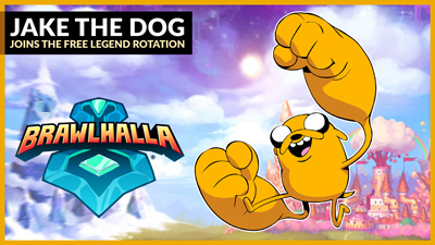 Jake the Dog joins Free-to-Play Legend Rotation!