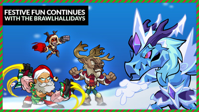 Festive Fun with the Brawlhallidays!