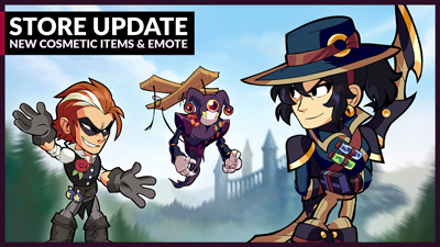 New Skin, Emote, and more in Mallhalla – Patch 5.01