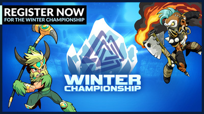 Register for the Brawlhalla Winter Championship 2021!