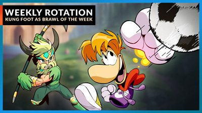 Kung Foot Featured for Brawl of the Week!