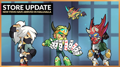 Brand New Items in Mallhalla – Patch 5.07