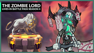 The Zombie Lord Lives in Battle Pass Season 4