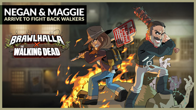 Negan & Maggie from AMC's The Walking Dead charge into Valhalla! – Patch 5.12