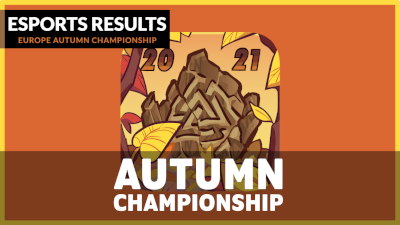 Acno takes the EU Autumn Championship in singles and in doubles with his partner Blaze!